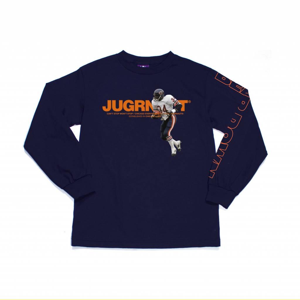 Jugrnaut Jugrnaut Sweetness Long Sleeve Tee Navy
