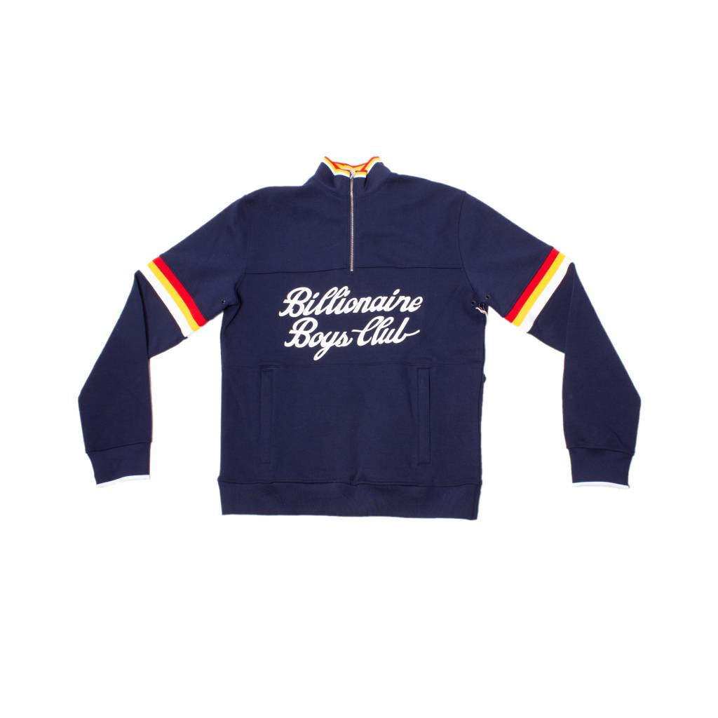 BBC BBC Time Half Zip Knit Navy