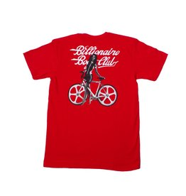 BBC BBC Bike Shop Tee Red