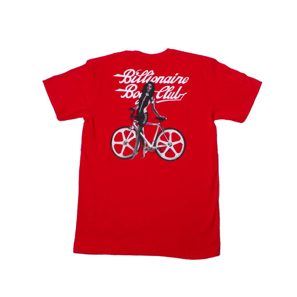 BBC BBC Bike Shop Tee Red