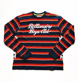 BBC BBC Sprinter LS Crew Striped Navy/Red