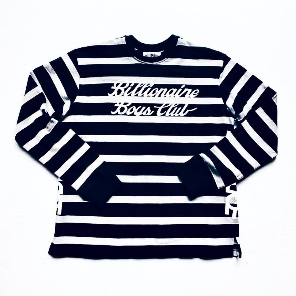 BBC BBC Sprinter LS Crew Striped Blk/Grey