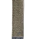 Stussy Stussy Wool Scarf Leopard