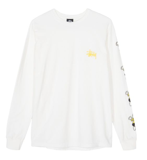 Stussy Stussy Dolls Pig Dyed LS Tee Natural