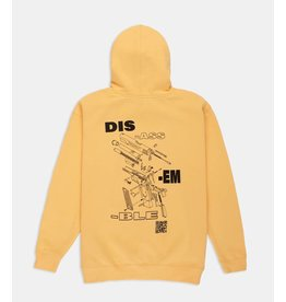 10 Deep 10 Deep Disassemble Hoodie Orange