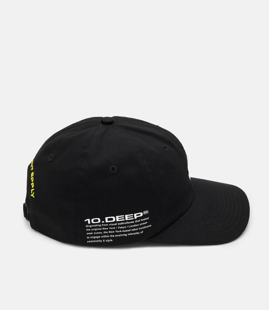10 Deep 10 Deep Final Home Cap Black
