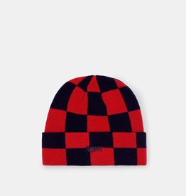 10 Deep 10 Deep Sound and Fury Beanie Red checker