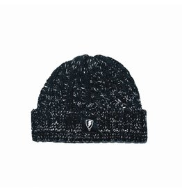 Jugrnaut Jugrnaut Ribbed Wool Shield Beanie black