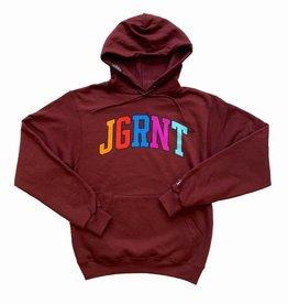 Jugrnaut Jugrnaut Color Campus Hoody Burgundy