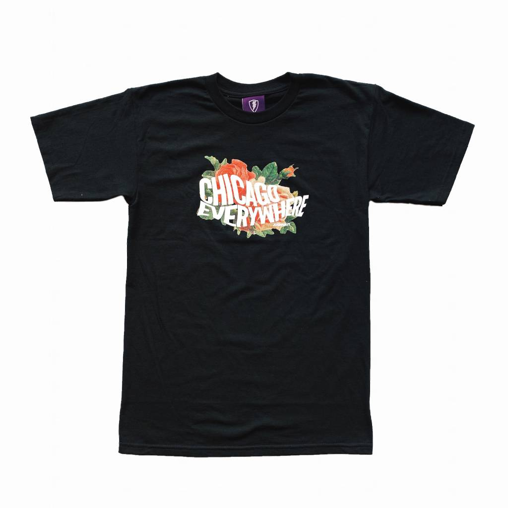 Jugrnaut Jugrnaut Wavy Everywhere Tee Black