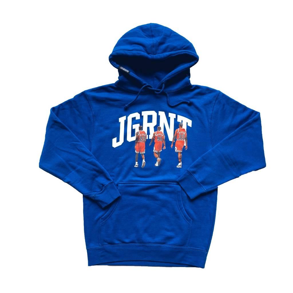 Jugrnaut Jugrnaut Dynasty Heavy Weight Hoody Blue