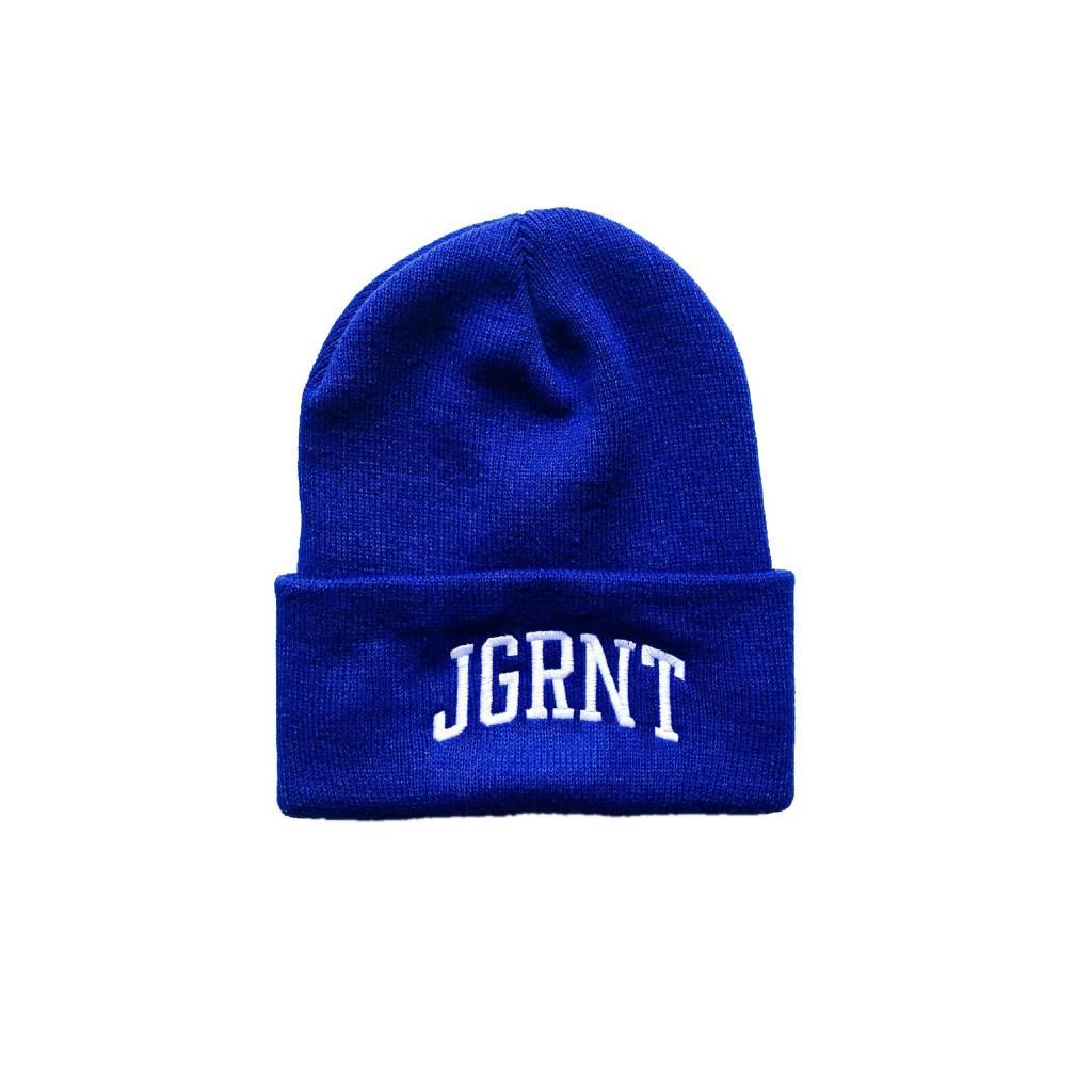 Jugrnaut Jugrnaut Double Sided Campus Shield Beanie Royal OSFM