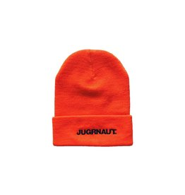 Jugrnaut Jugrnaut Bold Text Logo Thinsulate Beanie Orange OSFM