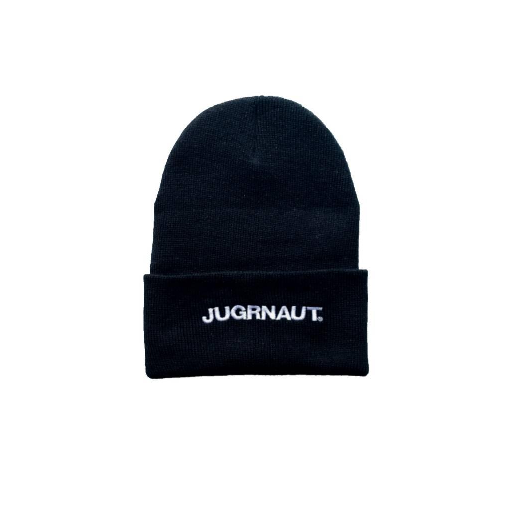 Jugrnaut Jugrnaut Bold Text Logo Thinsulate Beanie Black OSFM