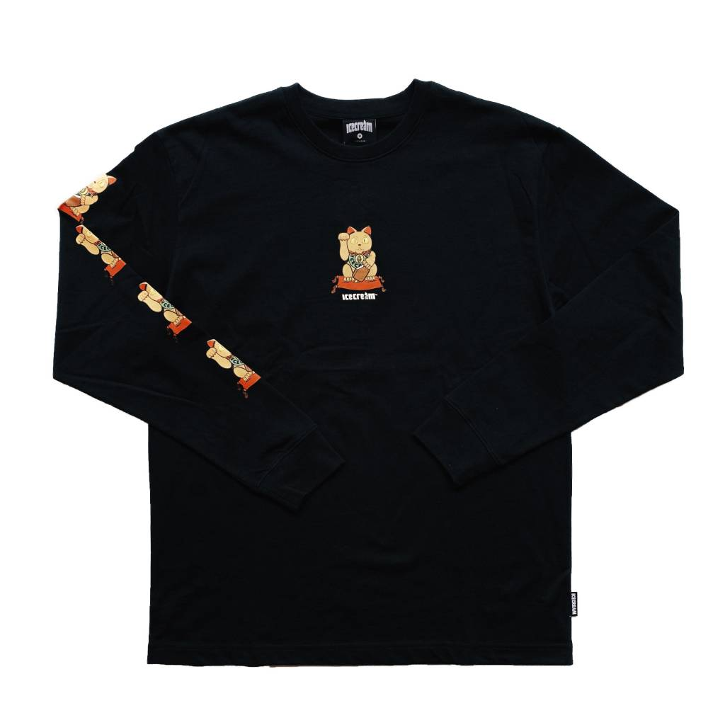 Icecream Icecream Magic Long Sleeve Tee Black