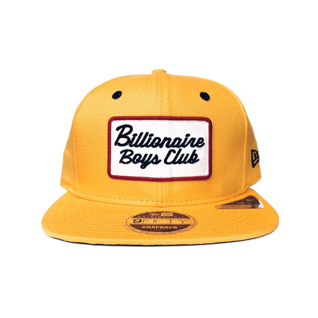 BBC BBC Patch Snapback Gold