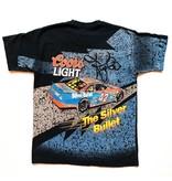 Vintage Vintage J 1995 Coors Light Racing Tee Black Large