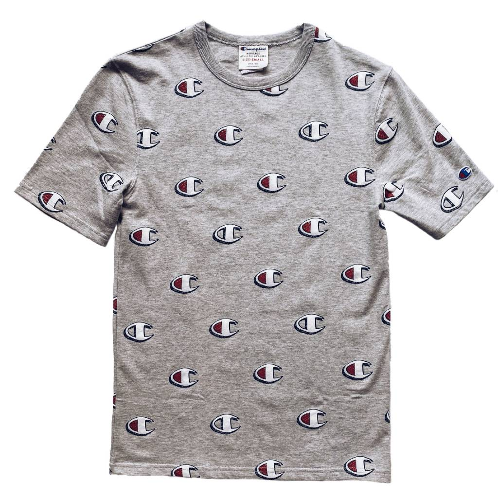 Champion Champion Scribble All Over Tee Oxford