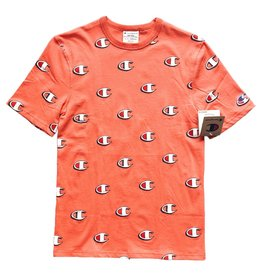 Champion Champion Scribble All Over Tee Salmon