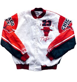 Vintage Vintage J 1990's Jordan Chalkline Jacket Large