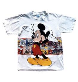 Vintage Vintage J 90's Mickey Tee White Medium