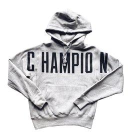 Champion champion Big Script Hoody Grey