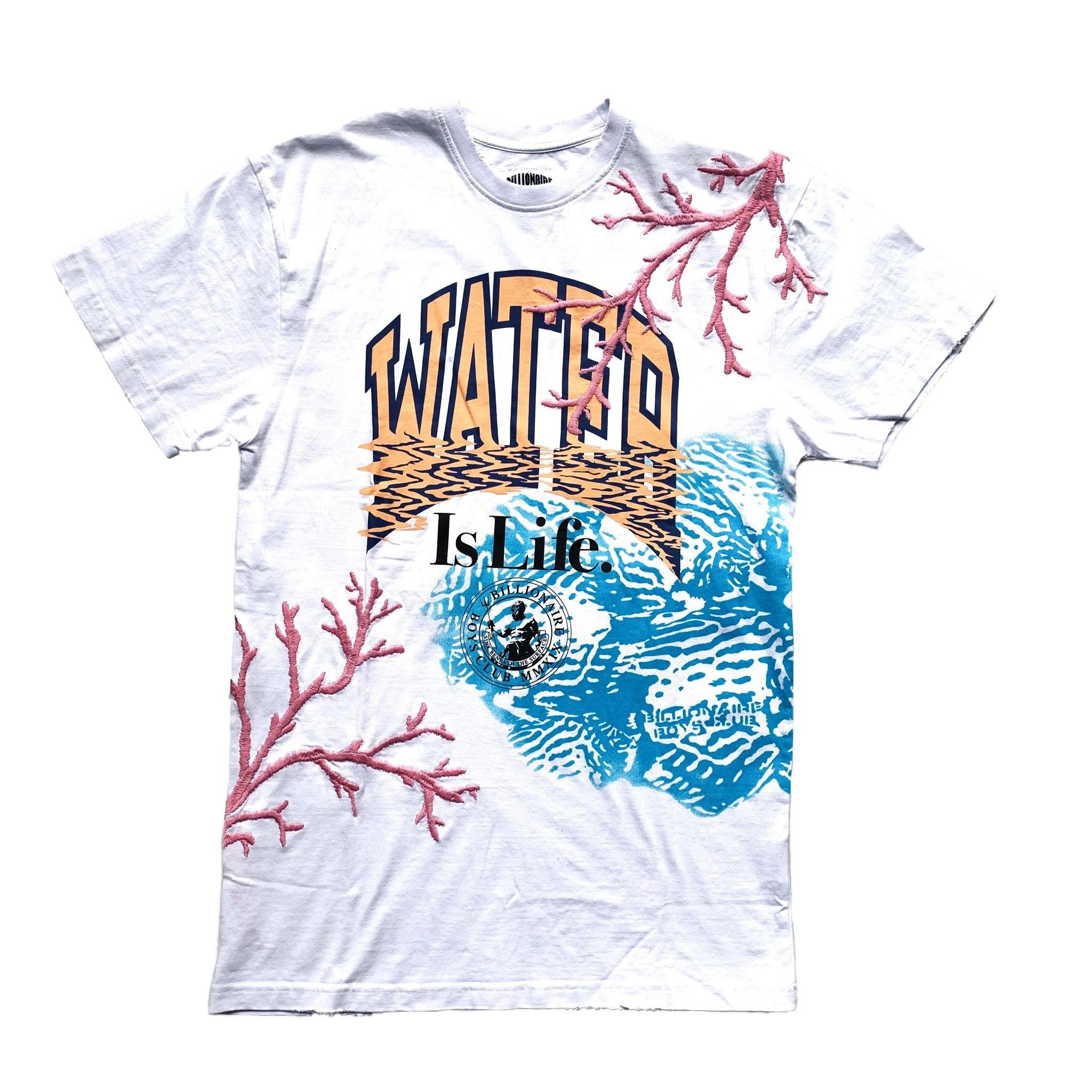 BBC BBC Water Life SS Knit Bleach White