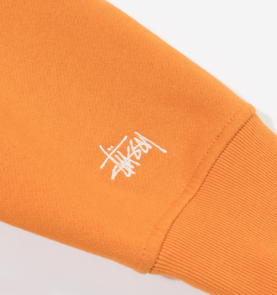 Stussy Stussy Woven Mock Crew Neck Orange