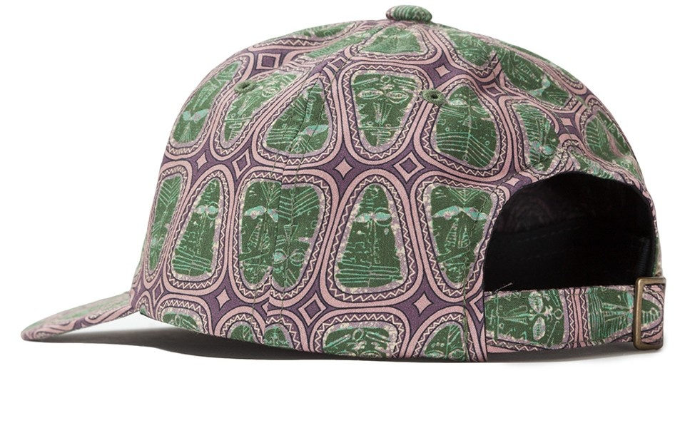 Stussy Mask Pattern Low Pro Cap Pink