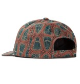 Stussy Mask Pattern Low Pro Cap Brown