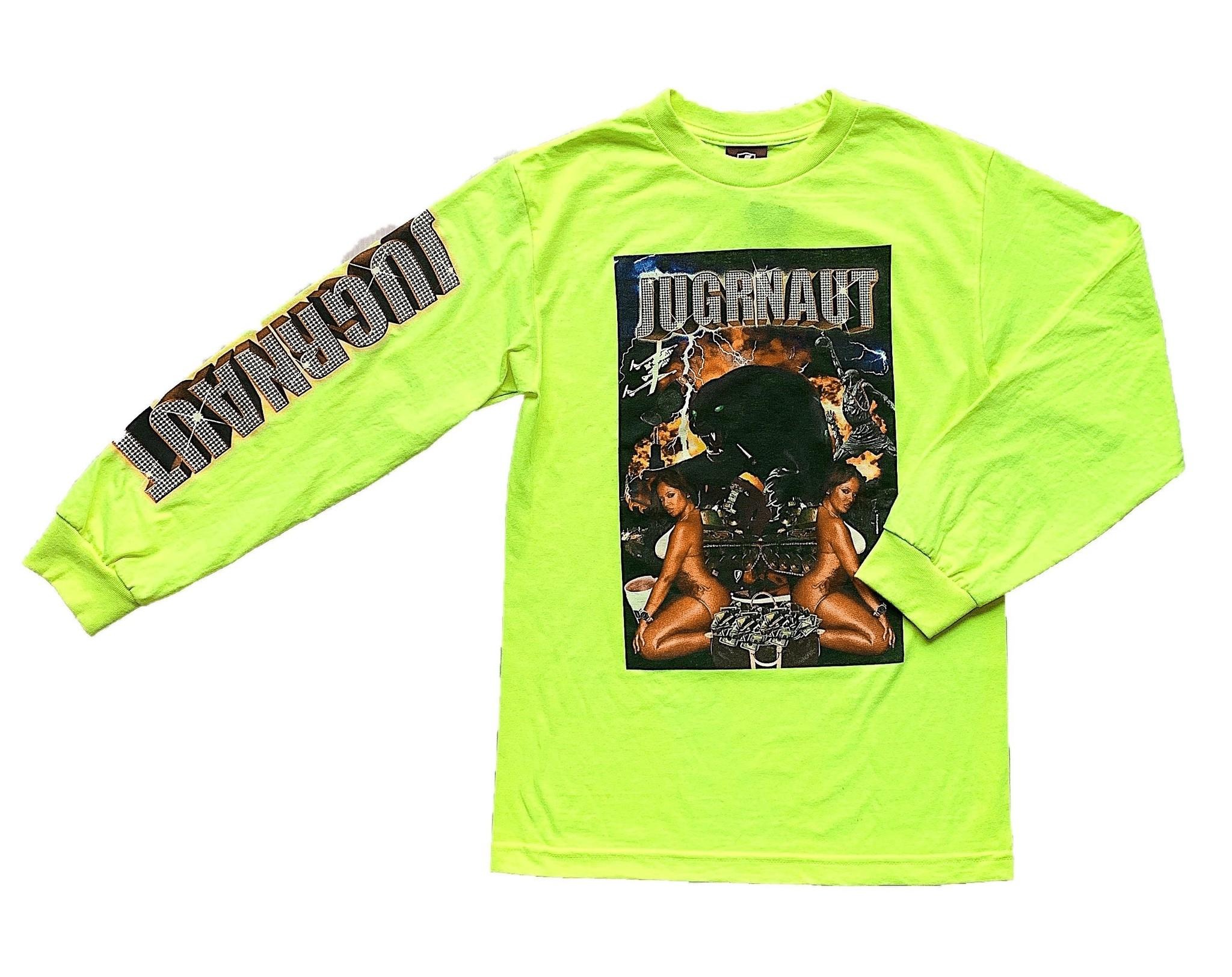 Jugrnaut Bout it L/S Safety Green