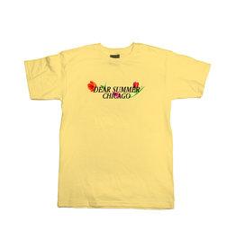 Jugrnaut Jugrnaut Dear Summer Tee Yellow
