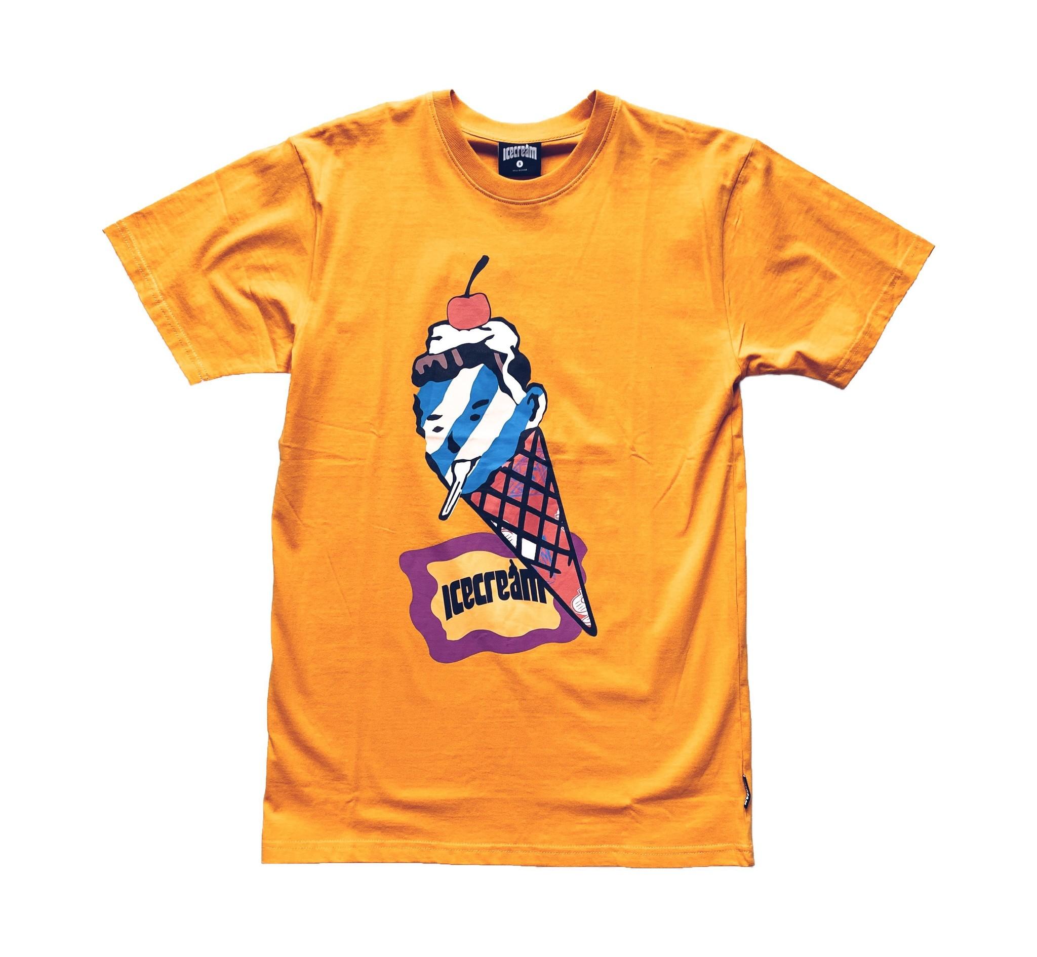 Icecream Icecream Cone Head Tee Yellow