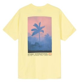 Stussy Stussy Fire Palm Tee Lemon