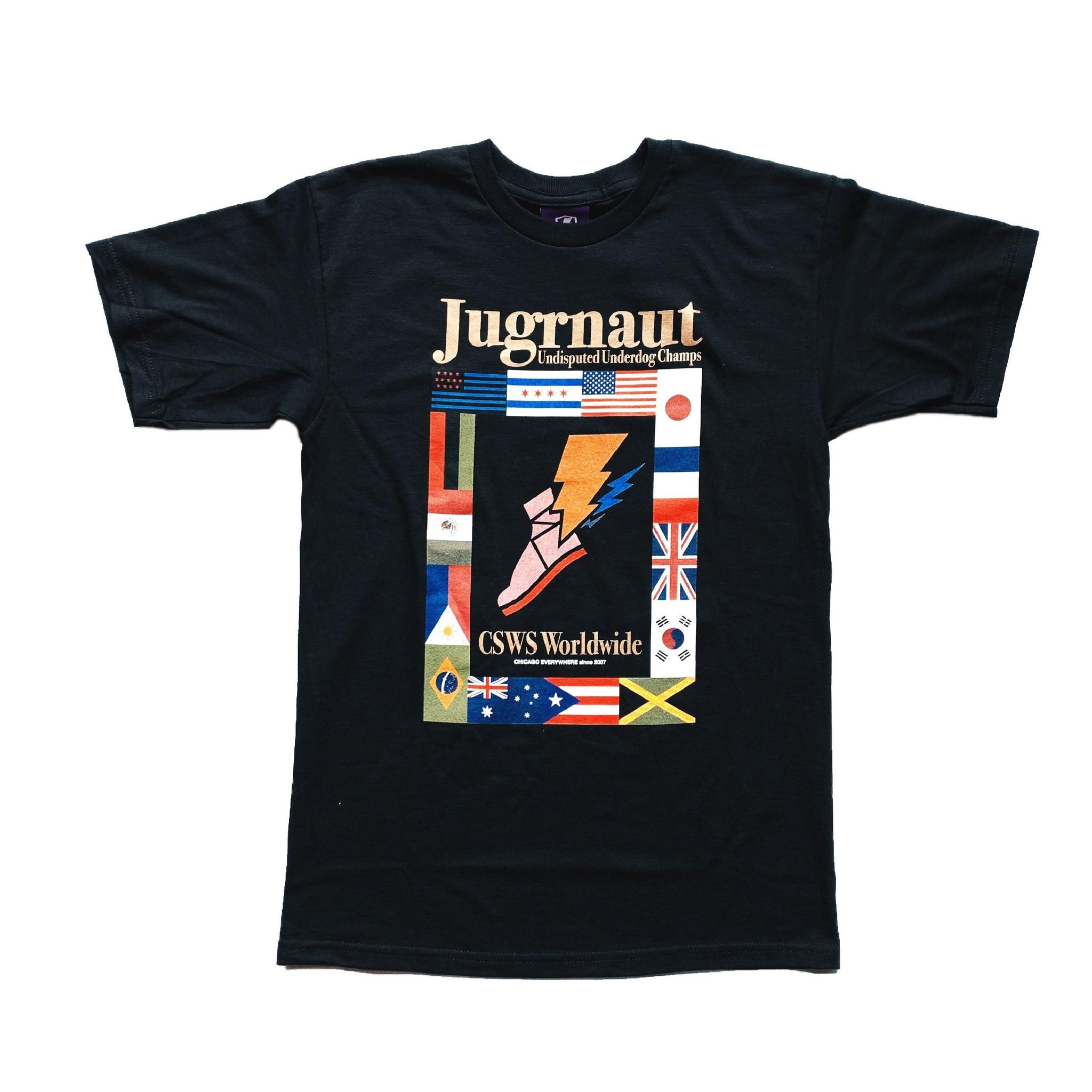 Jugrnaut Jugrnaut Atlanta Tee Black