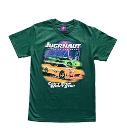 Jugrnaut Jugrnaut Fast and Furious Tee Green
