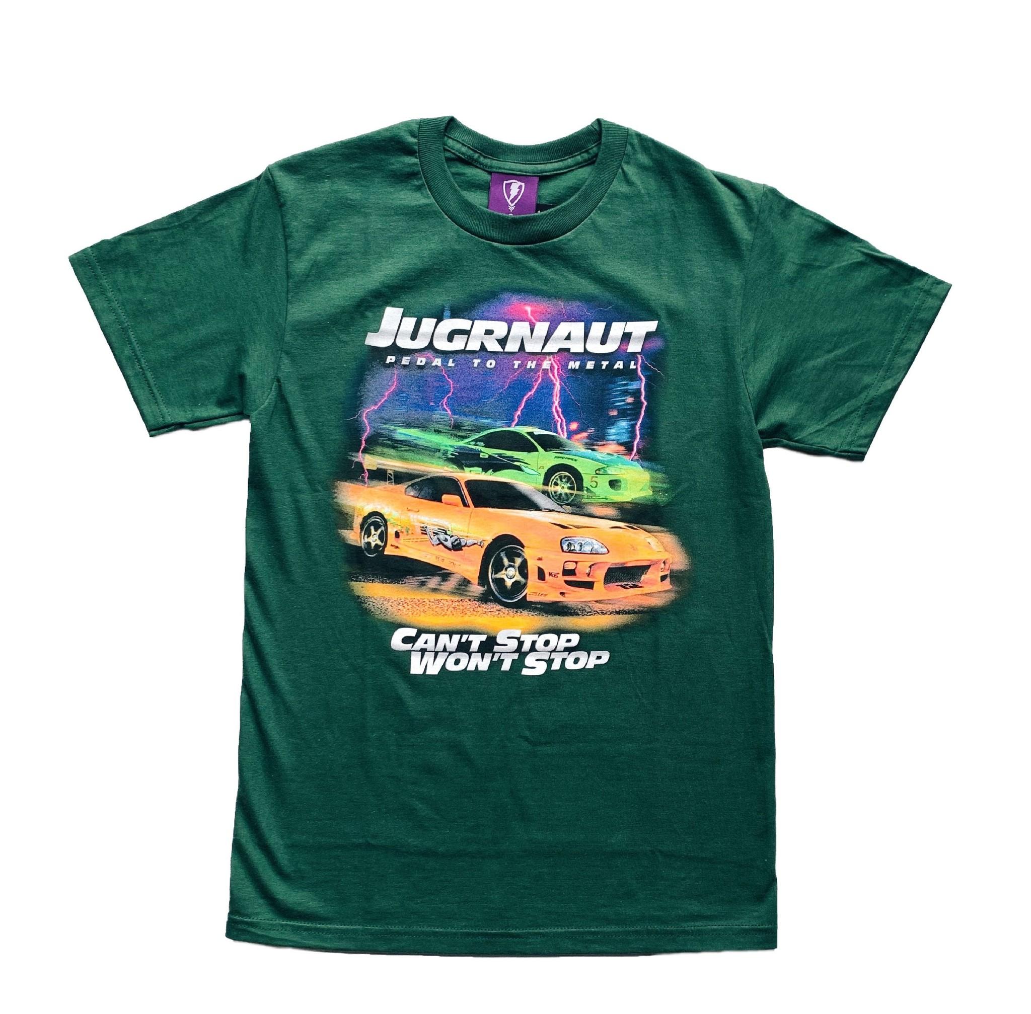 Jugrnaut Jugrnaut Fast and Furious Tee Green