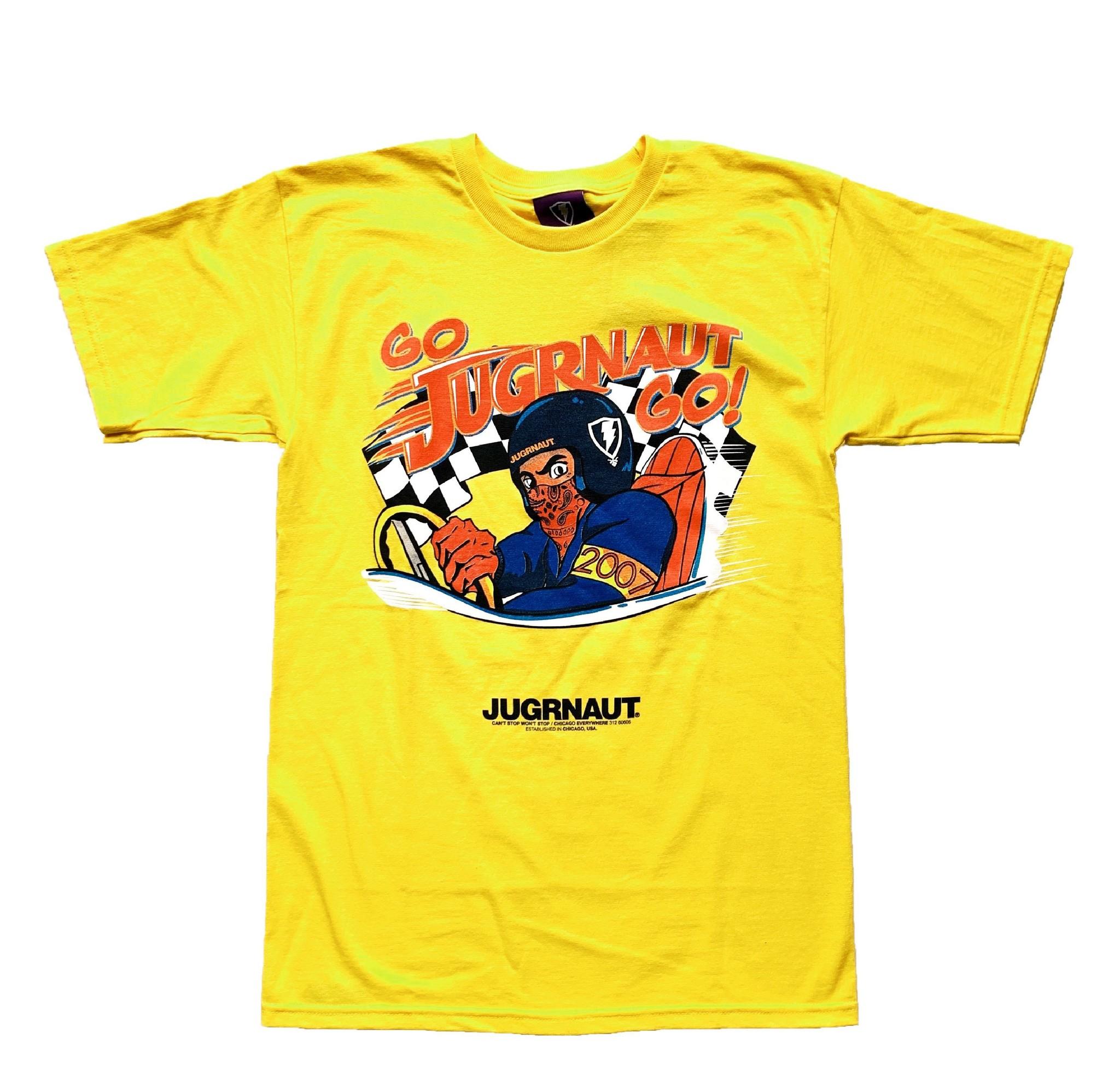 Jugrnaut Jugrnaut Speed Racer Tee Yellow