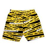 Rumours Rumours Yellow Tape Vacation Shorts Yellow