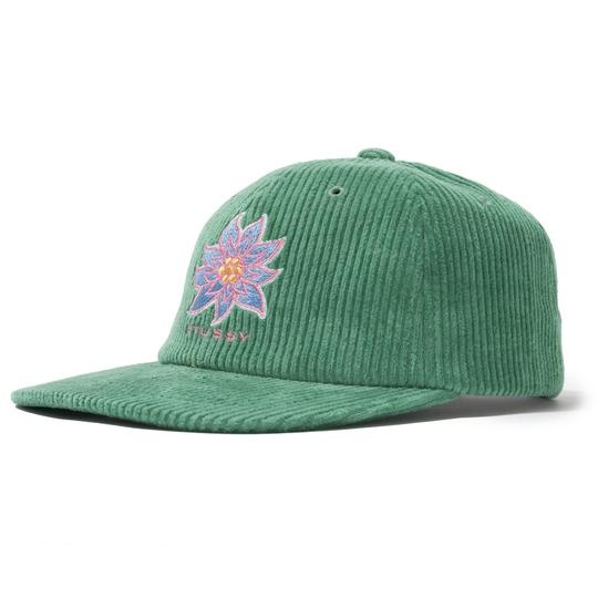 Stussy Stussy Laguna Flower Cap Green
