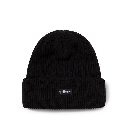 Stussy Stussy Small Patch Beanie Black