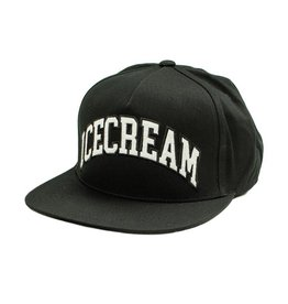 Icecream Icecream Smapback Hat Black