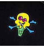 Icecream Icecream Chenille Patch Hoodie Black
