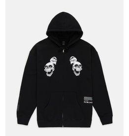 10 Deep 10 Deep Biohazard Zip hoodie Black