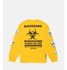 10 Deep 10 Deep Biohazard L/S Tee Yellow