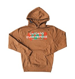 Jugrnaut Jugrnaut Chicago Everywhere Roses Sand Hoodie