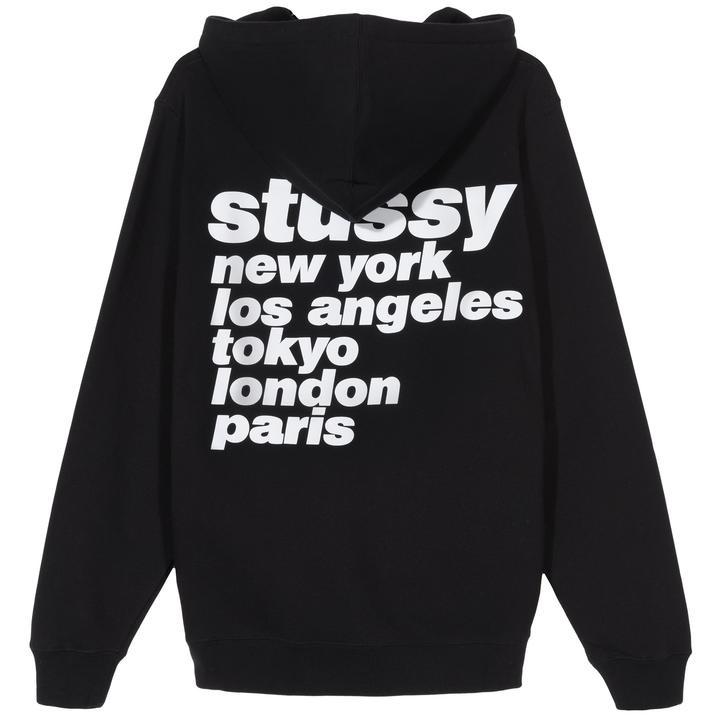 Stussy Stussy Italic Hoody Black
