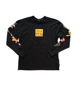Icecream Icecream Slasher LS Knit Black