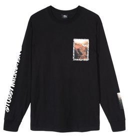 Stussy Stussy Great Outdoors L/S Tee Black
