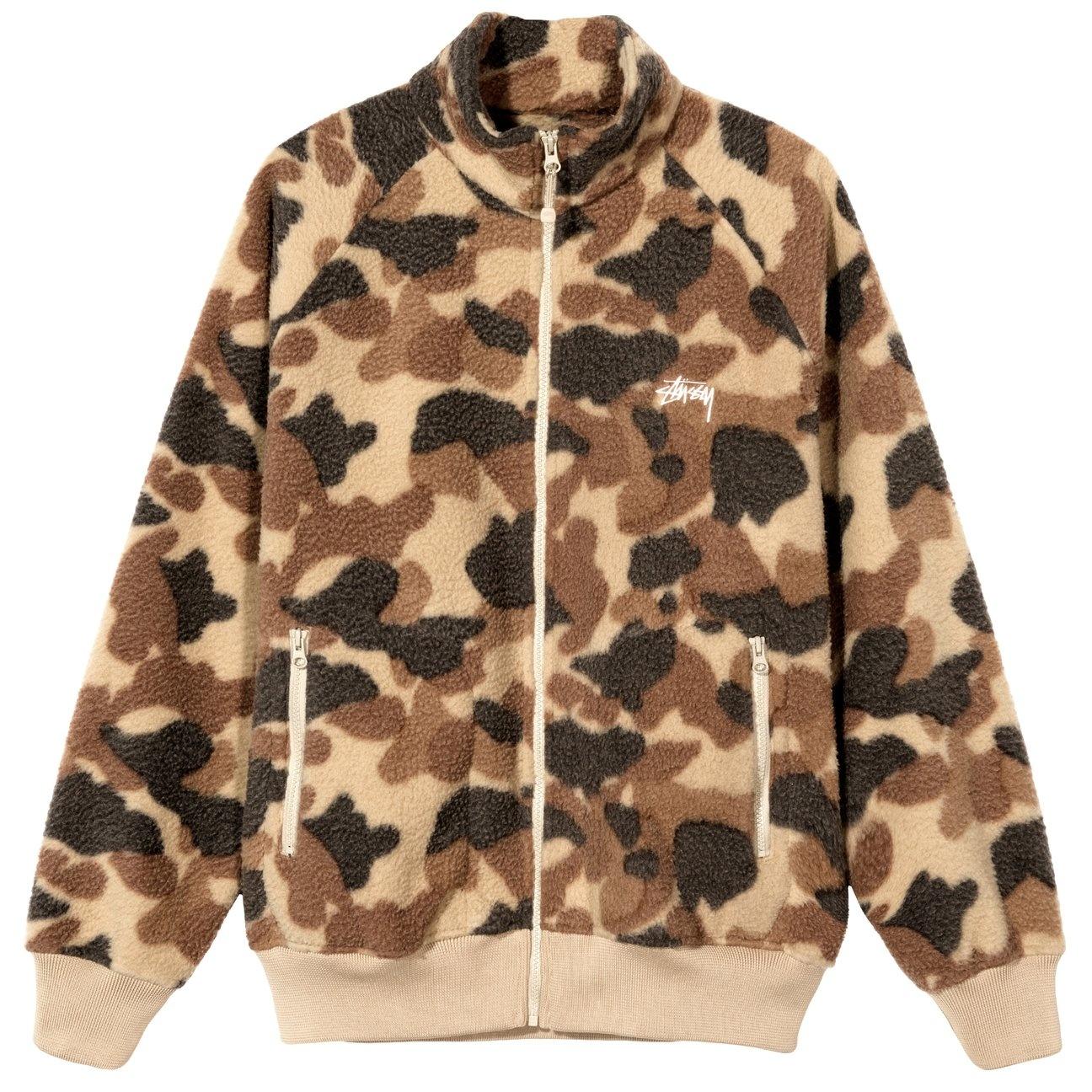 Stussy Stussy Camo Fleece Jacket Camo